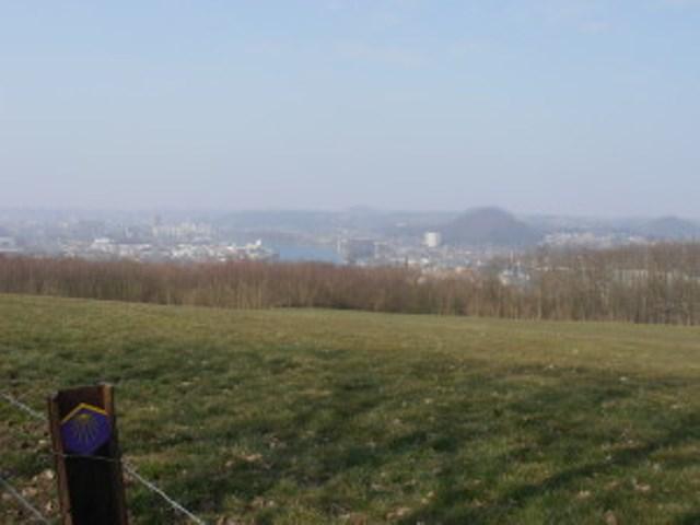 Uitzicht op Luik