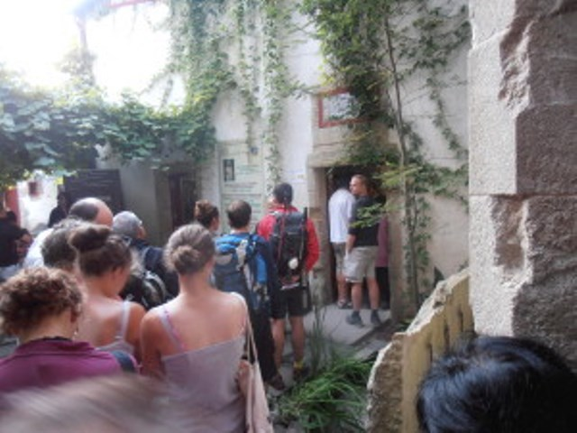 1ste dag in Santiago de Compostella